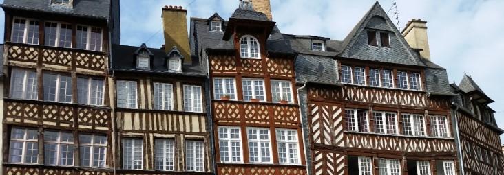 Façades à Rennes
