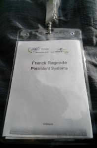Franck Rageade orateur Agile Tour Montpellier 2015