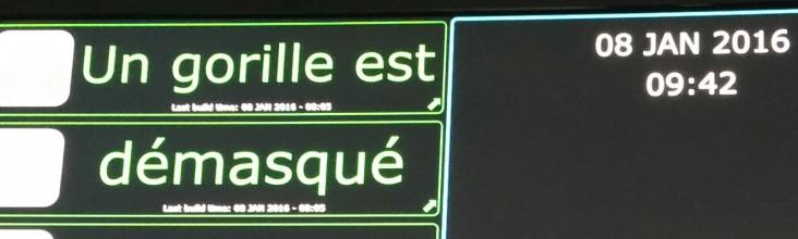 Zugor joue chez Persistent France - Janvier 2016