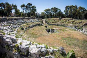 Amphithéâtre de Syracuse en Sicile