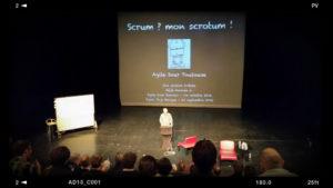 Agile Toulouse 2016 - Claude Aubry - Scrum mon scrotum