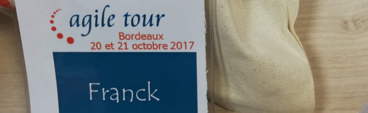 Agile Tour Bordeaux 2017 - Badge orateur - Franck