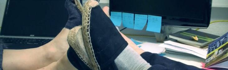 Les espadrilles, la chaussure agile